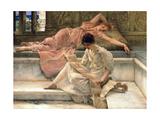 Un poeta predilecto, 1888 Lámina giclée por Sir Lawrence Alma-Tadema