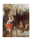 The Ford, 1665 Giclee Print by Jan Siberechts