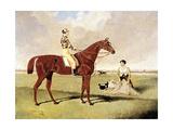 'Barefoot' Ridden by Dick Goodison, 1829 Giclee Print by John Frederick Herring Jnr