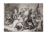 The Seizure of Roger De Mortimer (1287-1330) in Nottingham Castle, 19th October 1330, from… Giclee Print by Sir Joseph Noel Paton