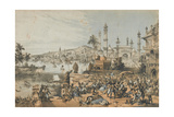 The Treacherous Massacre of English Women and Children at Cawnpore by Nena Sahib Giclee Print by Thomas Packer