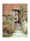 Under the Old Malthouse, Hambledon, Surrey Lámina giclée por Helen Allingham