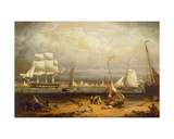 Liverpool Harbour, 1840 Giclee Print by Robert Salmon