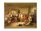 Examination of a Witch, 1853 Giclee Print by Tompkins Harrison Matteson