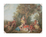 Autumn, 1738 Giclee Print by Nicolas Lancret
