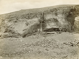 Hydraulic Mining, Virginia City Mountain, Usa, 1872 Photographic Print by William Henry Jackson