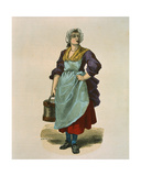 Walnut Seller in 1774 Giclee Print by Burn Smeeton