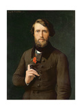 Portrait of Count Felix D'Arjuzon (1800-74) 1841 Giclee Print by Hippolyte Flandrin