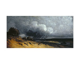 Storm Near Montmartre Giclee Print by Georges Michel