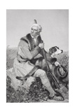 Portrait of Daniel Boone (1734-1820) Giclee Print by Alonzo Chappel