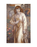 The Salutation Giclee Print by Dante Gabriel Rossetti