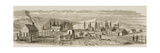 Salt Lake City in 1850, from 'American Pictures', Published by the Religious Tract Society, 1876 Giclee Print
