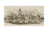 New City Hall, San Francisco, from 'American Pictures', Published by the Religious Tract Society,… Giclee Print by  English School