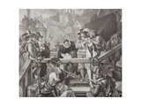 The Marquis of Montrose at the Place of Execution in the High Street of Edinburgh in 1650, from… Giclee Print by Edgar Melville Ward