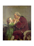 Jacob Rogrigues Pereire (1715-80) 1861 Giclee Print by Jules Eugene Lenepveu