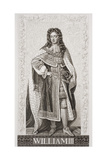 William III (1650-1702) from 'Illustrations of English and Scottish History' Volume II Giclee Print by Sir Godfrey Kneller