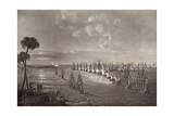 The Battle of the Nile in 1798, Illustration from 'The Life of Nelson' by Robert Southey… Giclee Print by Richard Westall