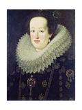 Portrait of Eleonora De Gonzaga Mantua (1598-1655) 1622-55 Giclee Print by Justus Sustermans