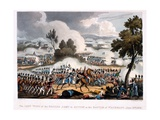 The Left Wing of the British Army in Action at the Battle of Waterloo, Engraved by Thomas… Giclee Print by William Heath