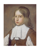 Portrait of a Young Man in a Lace Collar, C.1656 Giclee Print by Christiaen Jansz. Dusart