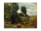 View on the River Sid, Near Sidmouth, C.1852 Giclee Print by Lionel Constable