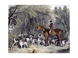 W. Head, Huntsman to the Donnington Hounds, Engraved by J.W. Giles (1801-70) 1837 Giclee Print by Richard Barrett Davis