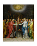 Betrothal of the Virgin Giclee Print by Ambrosius II Francken or Franck