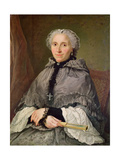 Portrait of a Woman in Grey Giclee Print by Jacques Andre Joseph Camelot Aved