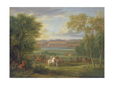 The Chateau of Saint Germain Giclee Print by Adam Frans van der Meulen