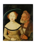 Mercenary Love Giclee Print by Hans Baldung Grien