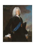 General John, 2nd Duke of Montagu (C.1688-1749) Master General of the Ordnance, C.1740 Giclee Print by George Knapton