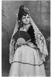 Celestine Galli-Marie (1840-1905) in the Title Role of 'Carmen' by Georges Bizet (1838-75) after… Photographic Print by Alphonse Liebert