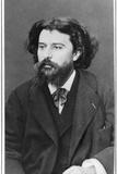 Alphonse Daudet (1840-1897) Photographic Print by Ferdinand Mulnier