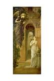 The Annunciation Giclée-tryk af Sir Edward Coley Burne-Jones