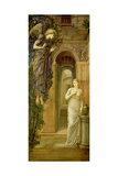 The Annunciation (panel) Lámina giclée por Sir Edward Coley Burne-Jones