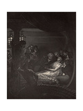 The Death of Nelson (1758-1805) Illustration from 'The Life of Nelson' by Robert Southey… Giclee Print by Richard Westall