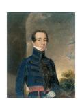Lieutenant George Briggs (1808-75) Madras Artillery, C.1832 Giclee Print by John Godwin Williams