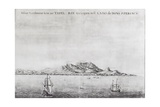 First Dutch Settlement at the Cape of Good Hope (Cape Town) C.1665 Giclee Print by Johannes Vingboons