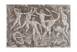 Battle of Ten Naked Men, 1465 Giclee Print by Antonio Pollaiuolo