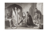 Lord William Russell Receiving the Sacrament Prior to His Execution on 21st July 1683, from… Giclee Print by Alexander Johnston