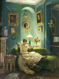 An Evening at Home, 1888 Giclee Print by Edward John Poynter