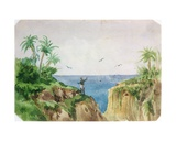 Exotic Landscape Giclee Print by George Sand
