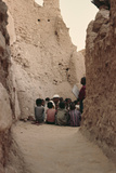 Koranic School in an Algerian Village Photographic Print