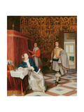 The Message Giclee Print by Eglon Hendrick Van Der Neer