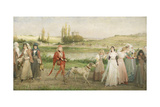Road to Camelot Giclee Print by George Henry Boughton