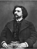 Alphonse Daudet (1840-1897) Photographic Print by Etienne Carjat