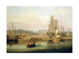 The Shipyard at Hessle Cliff, 1820 Giclee Print by John Wilson Carmichael