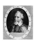 Sir Richard Grenville (C.1541-91), from 'Newe Welt Und Americanische Historien' by Johann Ludwig… Giclee Print by Theodore de Bry