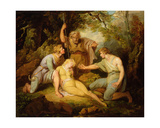 Scene II Act IV from 'Cymbeline' by William Shakespeare (1564-1616) Giclee Print by Henry Singleton