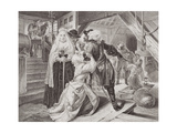 The Arrest of Alice Lisle for Sheltering Fugitives from the Battle of Sedgemoor in 1685, from… Giclee Print by Edgar Melville Ward